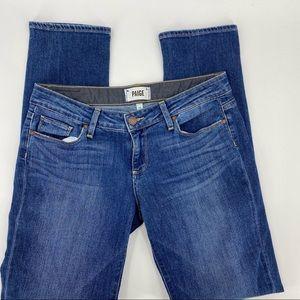 Paige Jimmy Jimmy Skinny blue jeans
